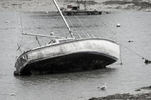 Sailboat At Tide Base