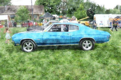 automobilis, senas, Senovinis, vintage, automobilis, senovinis automobilis stilizuotas # 1