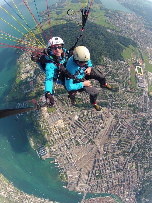 volaris paragliding tandem flight paragliding
