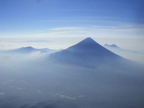 volcan de agua volcano cone