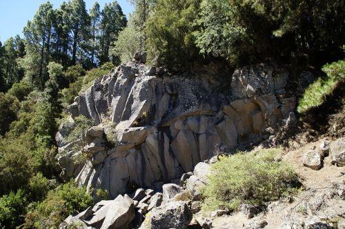volcanic rock formation tenerife