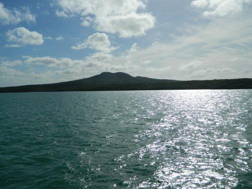 Volcanic  Island Rangitoto Auckland