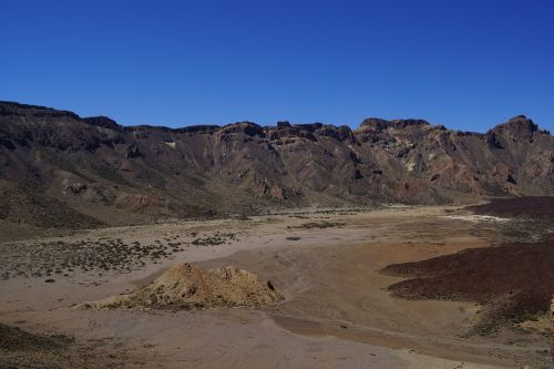 volcanic landscape tenerife landscape