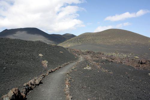 volcanic landscape landscape la palma
