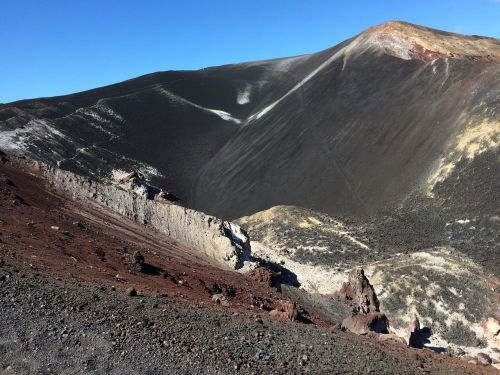 volcanic mountain volcano ash nature