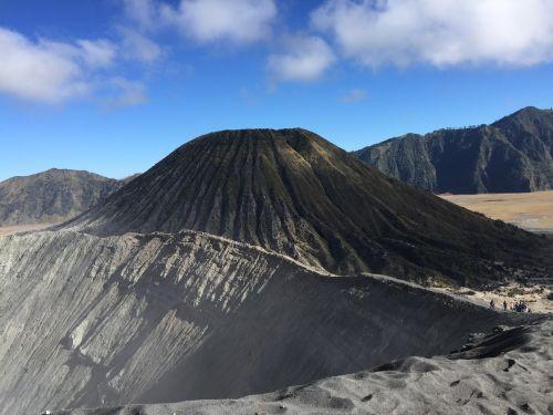 volcano bromine indonesia