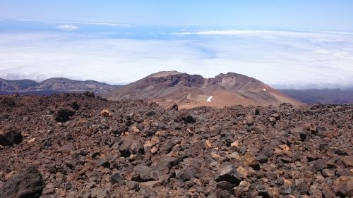 volcano volcanic rock nature