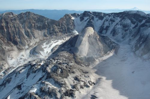 volcano solidified lava mount st helens
