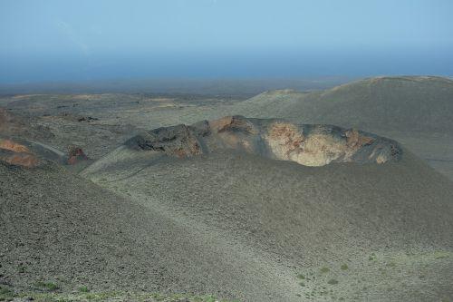 volcano origin hole