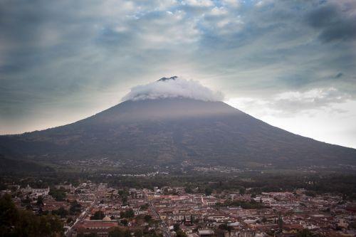 volcano water volcano antigua guatemala