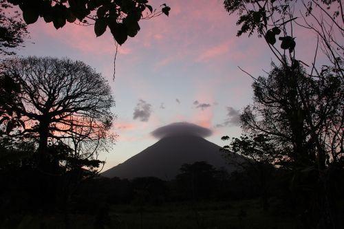 volcano landscape mountain