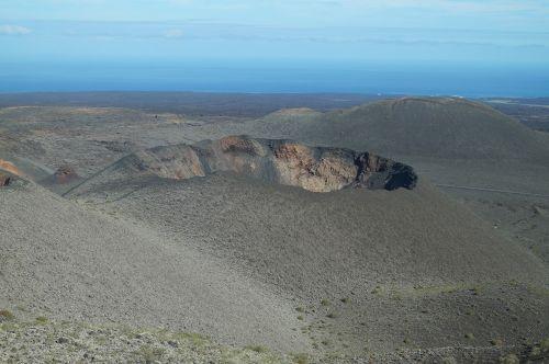 volcano lanzarote canary islands