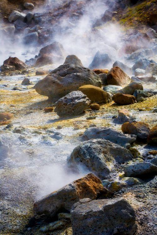 volcano volcanic rock
