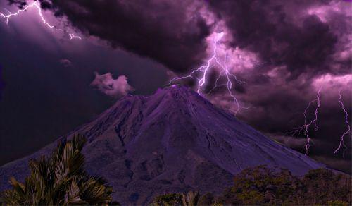volcano costa rica arenal volcano