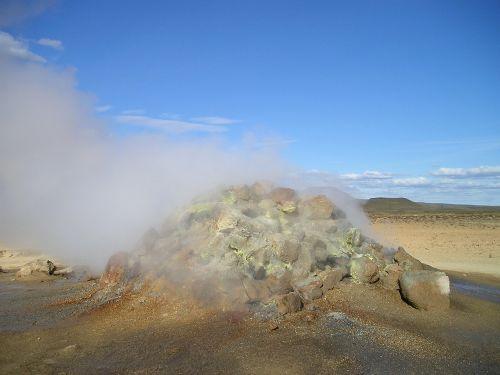 volcano volcanism hot