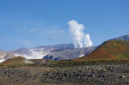 volcano the eruption steam release