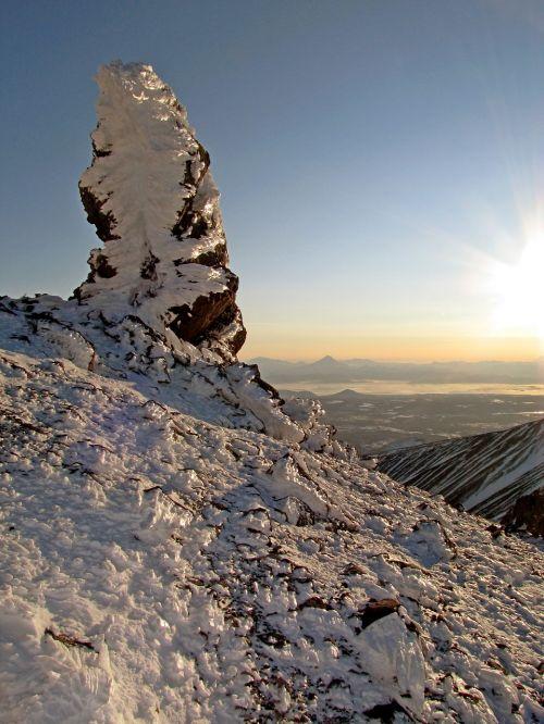 volcano mountains top
