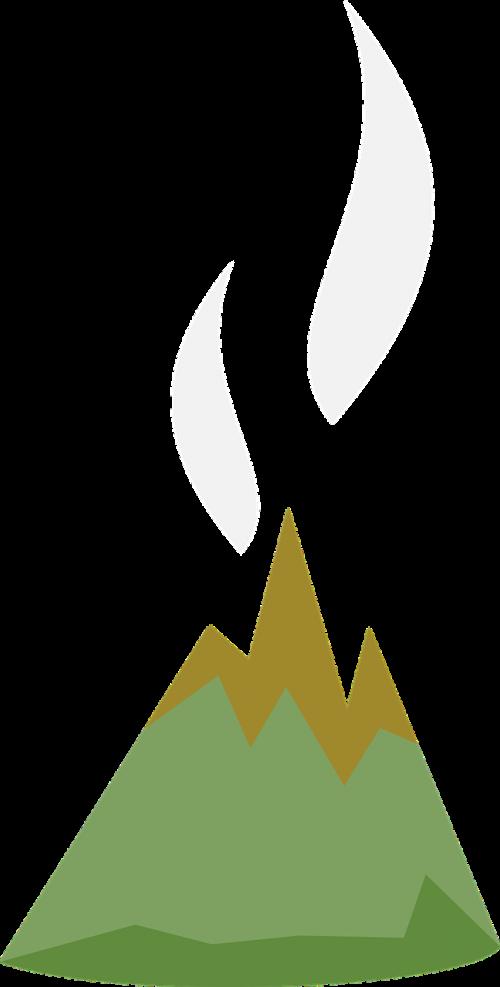 volcano flat volcanism