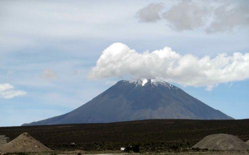 volcano mountain landscape