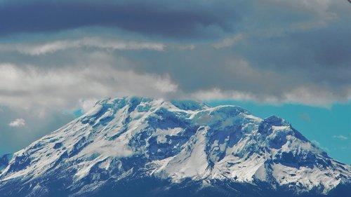 volcano  nevado  chimborazo