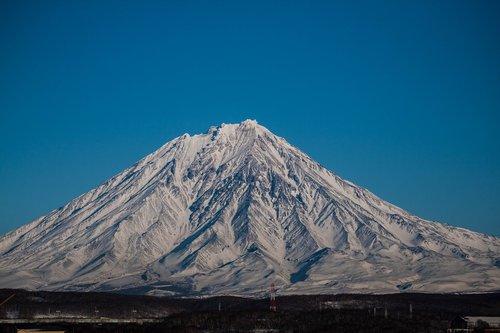 volcano  kamchatka  nature