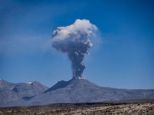 volcano  sabancaya  eruption