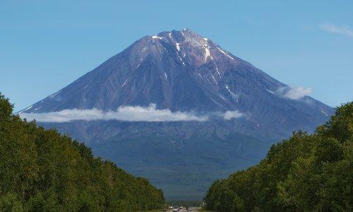 volcano  landscape  kamchatka