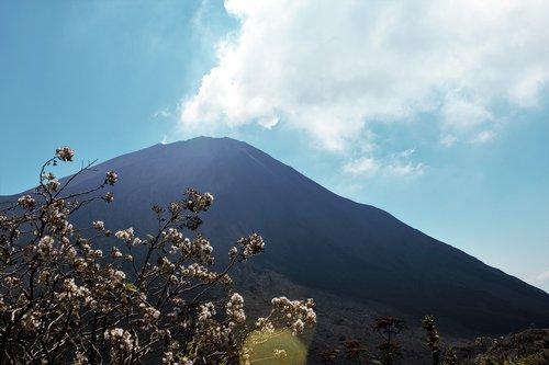 volcano  sun  gas