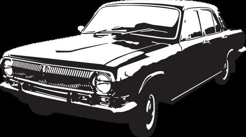 volga gaz 24 soviet automobiles