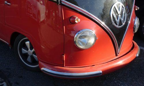 Volkswagen Campervan Front Wheel