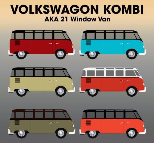 Volkswagen Type 2 21 Window Van