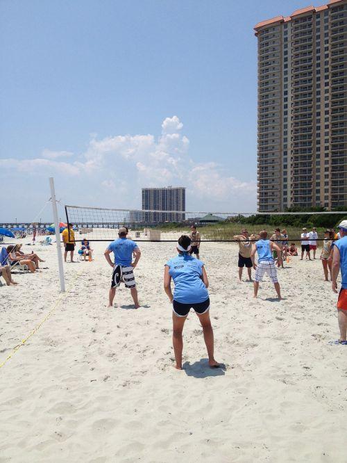 volley ball beach summer sport