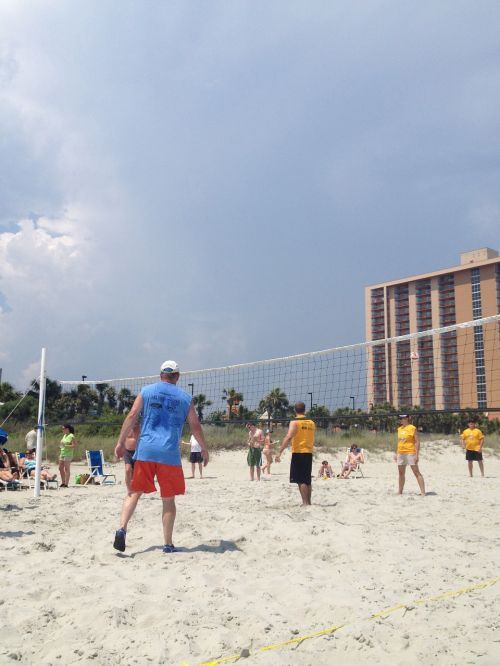 volley ball summer fun