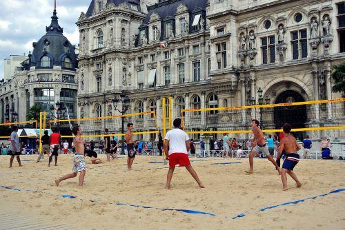 volleyball beach volleyball urban