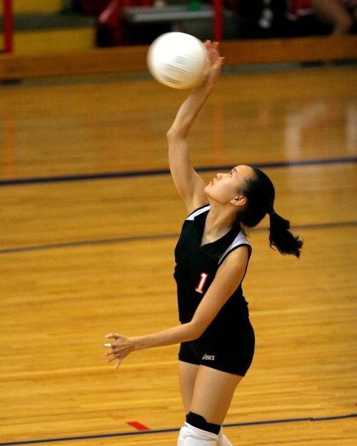 volleyball player action