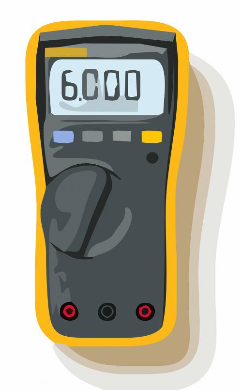 voltage meter multimeter