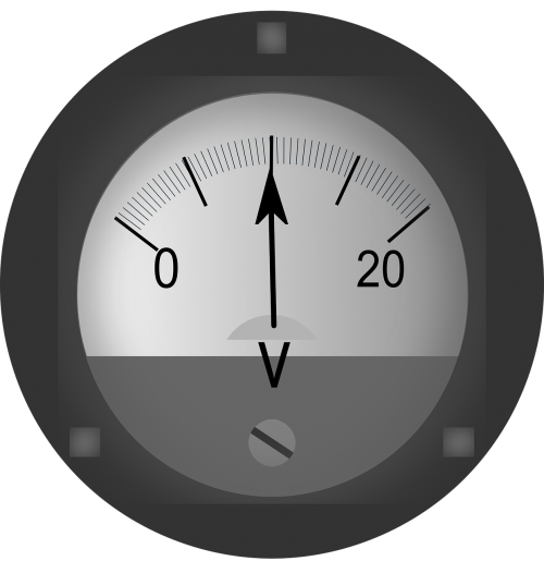 voltmeter ac-dc electric