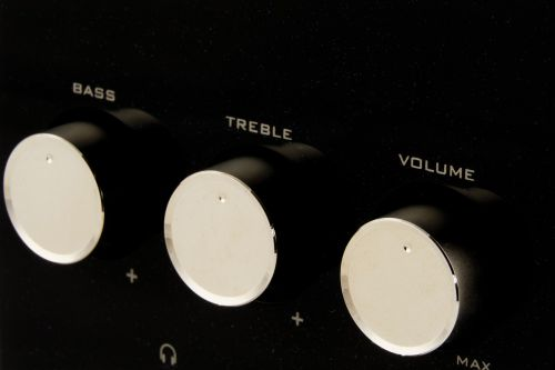volume bass tweeter