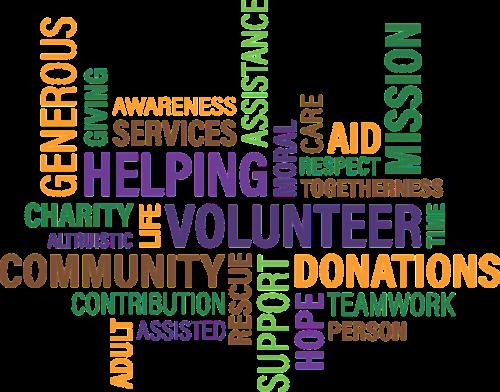 volunteer charity cloud