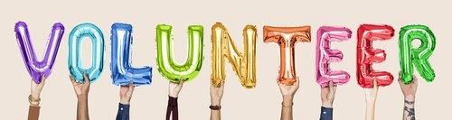 volunteer  activity  arms raised