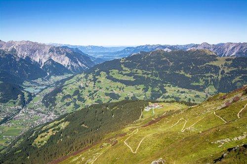 vorarlberg  montafon  austria