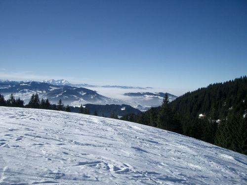 vorarlberg winter snow