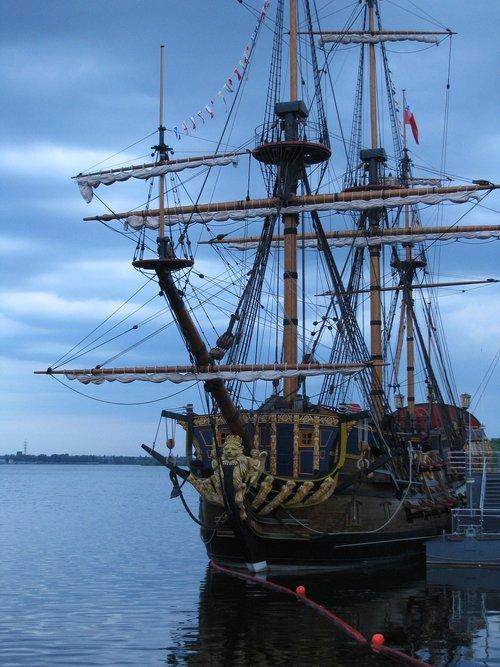 voronezh  quay  ship