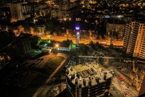 voronezh night photos construction