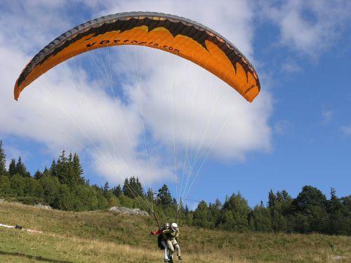 voss hang gliding sport