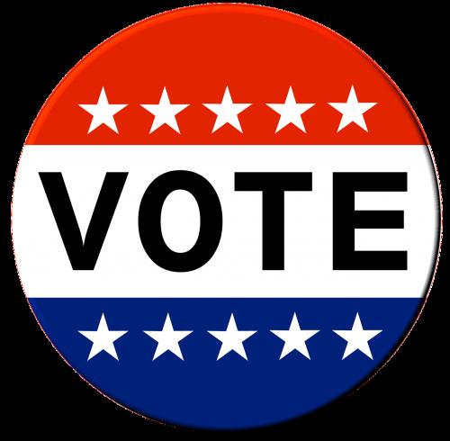 vote button election