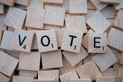 vote word letters