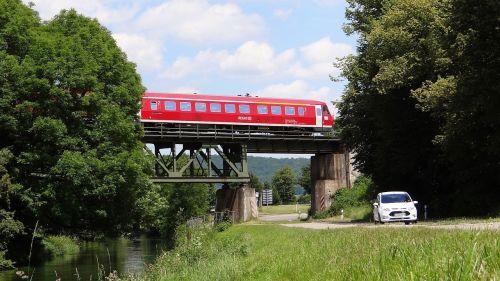 vt 611 railway bridge brenz railway