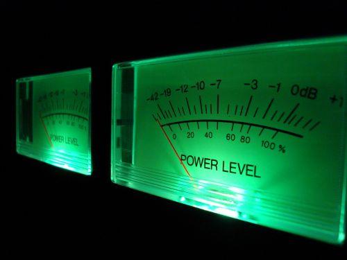 VU Meter Green
