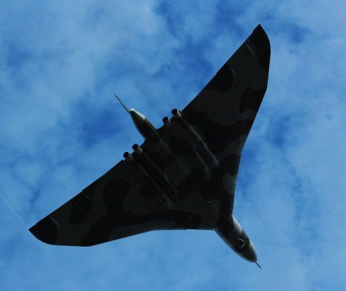 vulcan plane flight